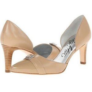 Brighton Tan Leather Heels